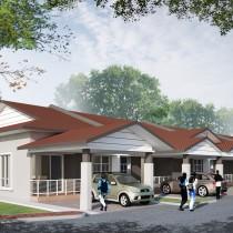 Taman Prima Sg. Karang - Jalan Pintasan Kuantan, Berdekatan Shell Sg. Karang